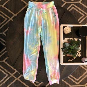 NWOT Softest TieDye Lounge Pants!